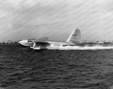 8x10 Print Howard Hughes Spruce Goose Test Flight Long Beach 1949 #SPRU23
