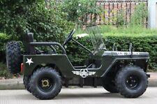 MINI ARMY OFF ROAD ELECTRIC VEHICLE, UTV, ATV, compare to jeep