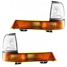 New Driver & Passenger Side Park Turn Signal Light Set For 98-00 Ford Ranger
