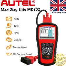 Autel Maxidiag Elite MD802 OBD2 Auto Diagnostic Tool Code Reader Scanner ABS EPB