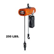 Cmco Lodestar Vs Electric Chain Hoist - 250 Lb, 2-Step Multi-Step