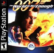 007 World Is Not Enough - PS1 PS2 Playstation Game
