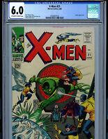 Uncanny X-Men #21 CGC 6.0 1966 Silver Age Marvel Comics Amricons K18