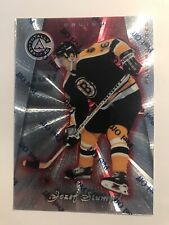 Jozef Stumpel /6199 Totally Certified Platinum Red Insert Parallel Hockey Card