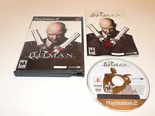 Hitman Contracts Sony Playstation 2 PS2 Video Game Complete
