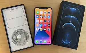 Apple iPhone 12 Pro - 256GB - BLUE (Unlocked) 2 MONTHS APPLE WARRANTY