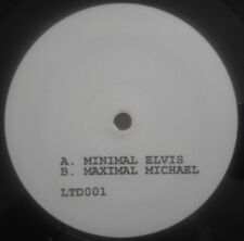 Unknown ‎– Minimal Elvis Maximal Michael 12'' EP (WHITE)
