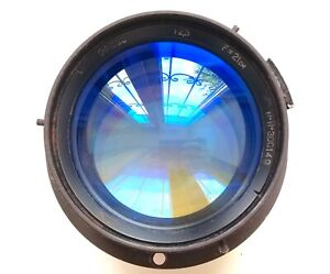 Very rare Soviet AERIAL fast lens OF-233 21cm (210mm) f2.5 Large format