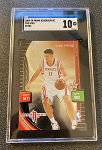 2009-10 Panini Adrenalyn XL Extra Yao Ming Houston Rockets SGC 10 GEM MINT! Woo!