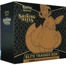 Pokemon TCG Shining Fates Elite Trainer Box Factory Sealed CASE (10 Boxes)