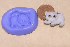 Reusable Cat Silicone Mould Food Safe Sugarcraft Jewellery Cake Tumdee Kitten 4
