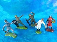 Britains Herald - lot de 5 figurines en plastique (ferme, militaires, chevalier)