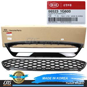 ⭐GENUINE⭐ Front Bumper Lower Grille & Center Molding Cover for 2010 2011 Kia Rio