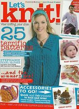 Let's Knit Magazine - November 2008 - Issue 12 - Patterns