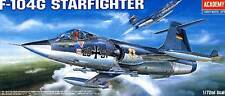 Academy - Lockheed F-104G Starfighter German Bundeswehr 1:72 Modell-Bausatz kit