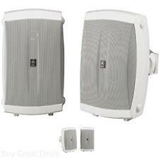 Outdoor Speaker Weatherproof Pair Outside Satellite Speakers 120 Watts Yamaha