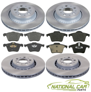 For Volvo XC90 I 2002-2014 Front & Rear Brake Discs and Pads Set