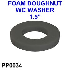 """1 1/2"""" FOAM DOUGHNUT WASHER SEAL for SYPHON WC CISTERN TANK CLOSE COUPLE*PP0034*"""
