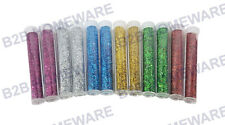 12 X GLITTER TUBES KIDS CHILDREN ART CRAFT CARD MAKING SCRAPBOOKING DECOUPAGE