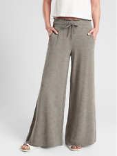 ATHLETA Compose Wide Leg Pant XS X-SMALL Olive | NEW! Yoga Pants Sweatpants SOFT