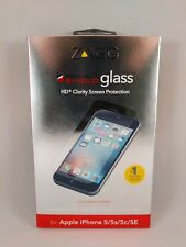 ZAGG - InvisibleShield HD Glass Screen Protector for Apple iPhone 5,5s,5c,SE