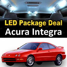 6x White LED Lights Interior Package Deal For 1994  2001 Acura Integra  Hatchback