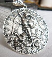 MEDAL SAINT MICHAEL ARCHANGEL silver 925
