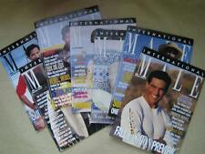 INTERNATIONAL MALE Lot of 9 MENS FASHION Mail-Order Catalog 1995 & 1996 Dated