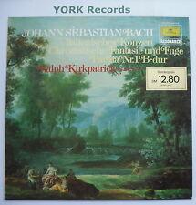 DG 2535 213 - BACH - Concerto Nach Italienischem Gusto KIRKPATRICK -Ex LP Record