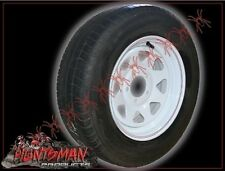 13x4.5 BRAND NEW SUNRAYSIA STYLE TRAILER WHEEL & 2ND TYRE SUIT HT OR FORD