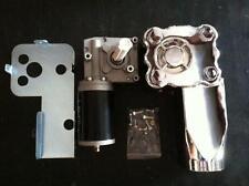 1.5HP Dump Truck Tarp System Gear Motor 50:1 12VDC w/cover 3 hole  3 yr warranty