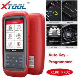 XTOOL X100 PRO2 EEPROM Auto Car OBD2 Diagnostic Scanner Tool Key Programming DHL