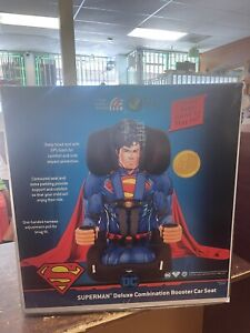 KidsEmbrace Harness Booster Baby Car Seat DC Comics Superman 5 Point 3001SPM New