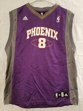 Adidas NBA Phoenix Suns Basketball Jersey #8 Frye Purple Gray Youth Size XL