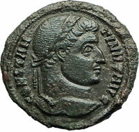 CONSTANTINE I the GREAT 322AD Aquileia Ancient Roman Coin Wreath  i76054
