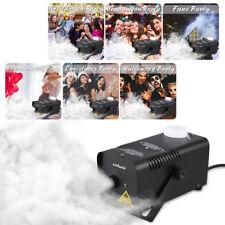 400W Nebelmaschine Nebel Smoke Fog Machine Fogger Stage Mit Fernbedienung Party