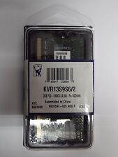 Kingston Kvr13s9s6/2 Memoria RAM 2gb 1.333mhz Tipologia SODIMM tecnol 209943