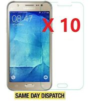 10 X Ultra Clear Screen Protectors Cover Film for Samsung Galaxy J5 SM-J5 Cloth