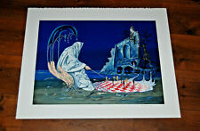 SIGNED TITO SALOMONI Fantasy Lithograph Surrealism Limited Ed. 68/200