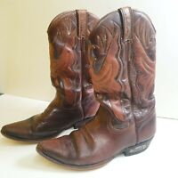 Vintage Loblan Mens Leather Cowboy Boots | Size UK 8 | EU 42 | US 9 /