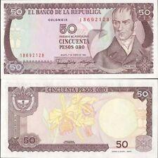 Colombie - Colombia billet neuf de 50 pesos oro pick 425 UNC