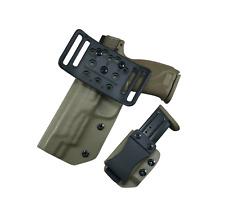 M&P 9 40  M2.0 5 FDE BELT Slide holster & Mag carrier SDH Swift Draw
