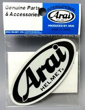 Arai Made in Japan Helmet Sticker 80 x 45mm 121590