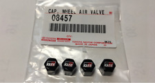 TOYOTA GR Tire Air Valve Cap 4pcs set GAZOO RACING Genuine Parts OEM From Japan