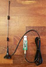 CC2531  ZigBee USB-Sick zigbee2mqtt ioBroker FHEM SMA Magnet Antenne + Firmware