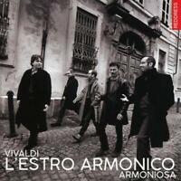 ARMONIOSA - VIVALDI: L'ESTRO ARMONICO-12 CONCERTI,OP.3  2 CD NEW