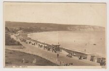 Dorset postcard - Swanage from North