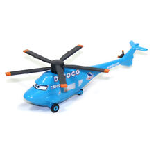 Mattel Disney Pixar Cars Dinoco Helicopter 1:55 Diecast Toy Planes Loose New