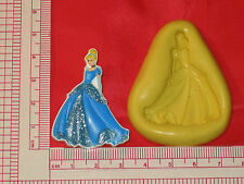 Princess Character Silicone Push Mold Food Safe #168 Cake Chocolate Resin Clay