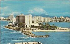 1967 postcard- San Jeronimo Hilton, San Juan, Puerto Rico